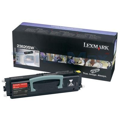 LEXMARK E238 TONER CARTRIDGE BLACK